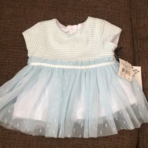 Baby blue Tulle top